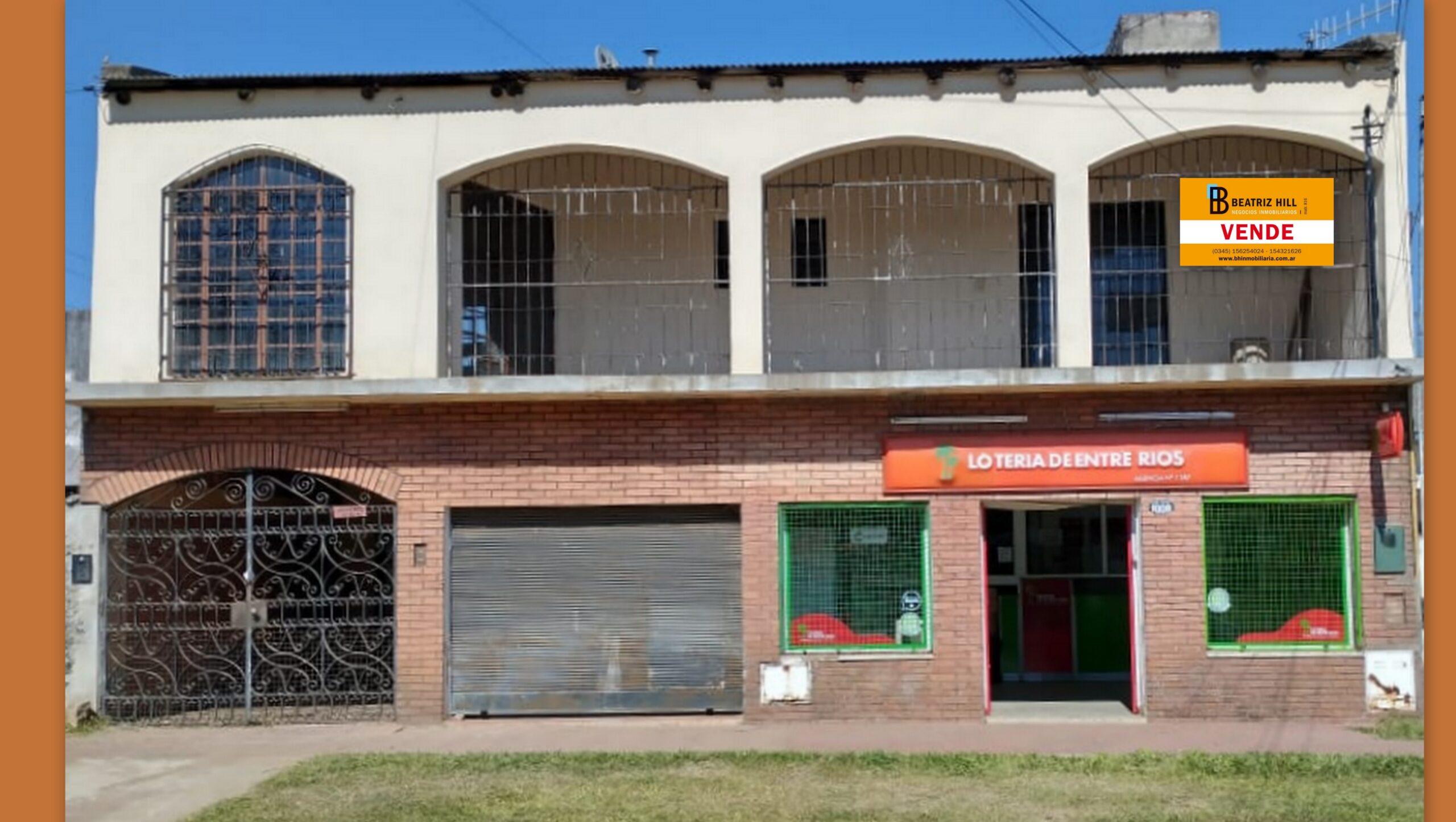VENTA - CASA 2 plantas c/2 Locales, Las Heras al 1000, Concordia