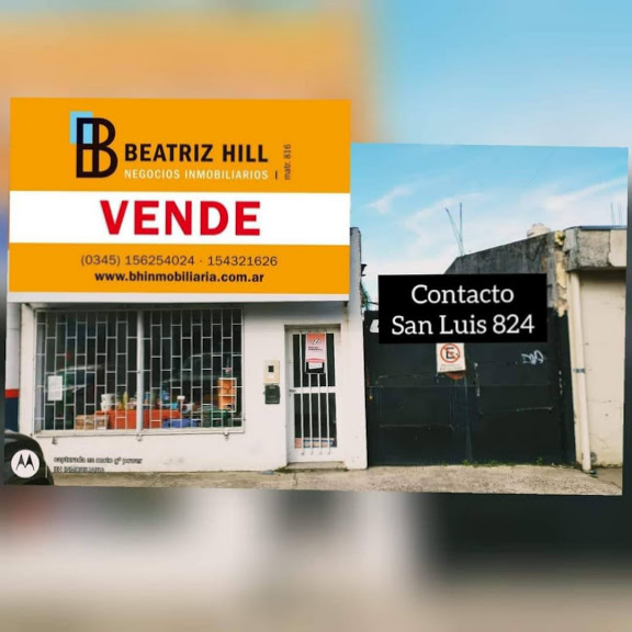 VENTA - Excelente Ubicación PROPIEDAD con LOCAL San Lorenzo casi Laprida...